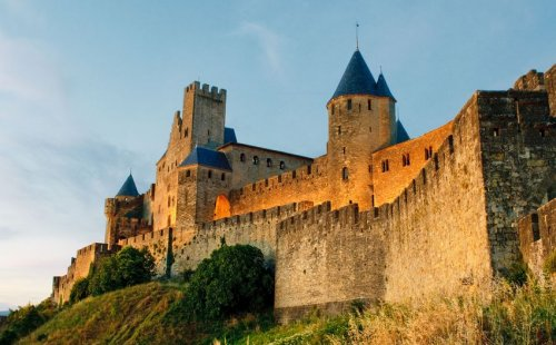 Itinerary Cathar castles of France's Languedoc