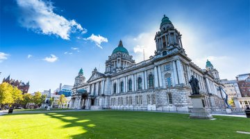 The vibrant cities and stunning landscapes of Northern Ireland