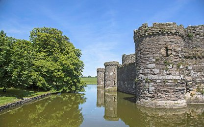 Beaumaris Castle - Castles in Wales I Itinerary Historic Hotels of Europe