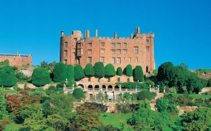 Powys Castle - Castles in Wales I Itinerary Historic Hotels of Europe