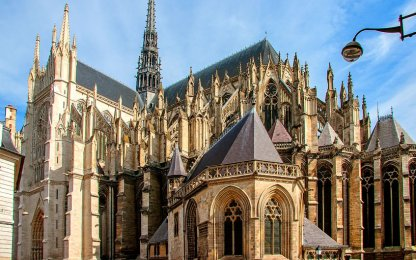 Cathedral in Amiens, UNESCO World Heritage site